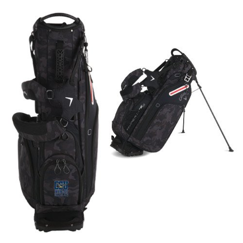 Coppin Callaway Hyper Lite 5 Camo Stand Bag 'Official Logo' by CollegeFanGear