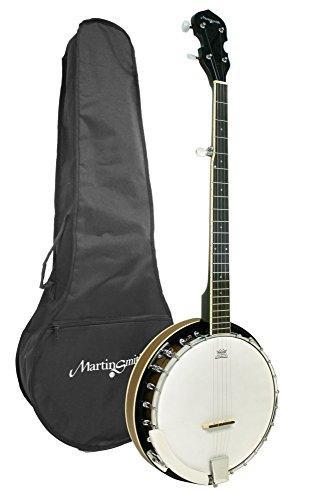 Martin Smith BJ-001 5 String Guitar Banjo Including Padded Gig Bag by Martin Smith