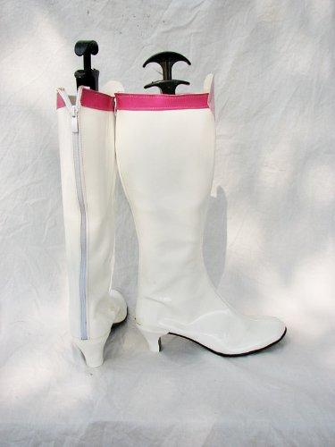 Sailor Moon Sailor Chibi Moon Chibiusa Scarpe Cosplay Stivali Su Misura Bianco