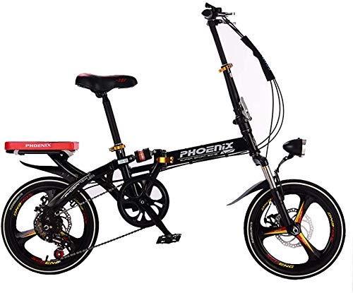 Bicicleta Plegable con Velocidad Variable, Bicicleta Urbana De ...