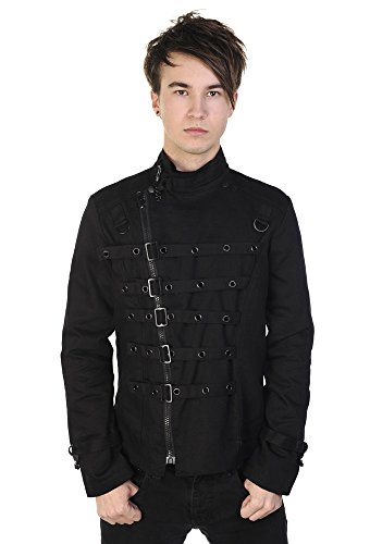 Banned Metal Cuff Jacket - - Banned Clothing Uk
