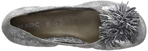 00785 Grey Janine caruso Donna Shoes Marc Grigio Ballerine x4B0yBqw