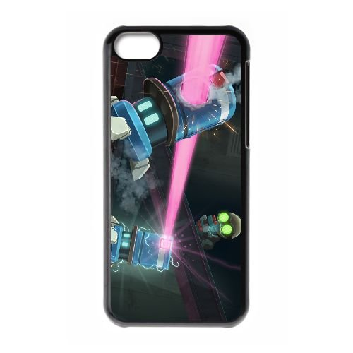 Stealth Inc. 2 A Game Of Clones 2 coque iPhone 5c cellulaire cas coque de téléphone cas téléphone cellulaire noir couvercle EEECBCAAN01246