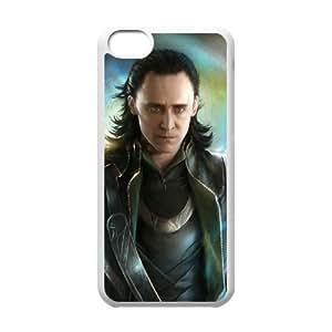TOSOUL Print Thor Loki Pattern PC Hard Case for iPhone 5C