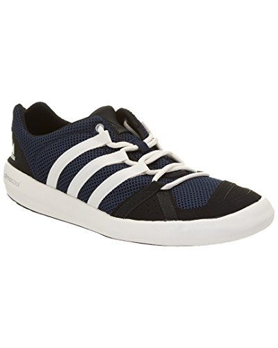 adidas+Outdoor+Unisex+Climacool+Boat+Lace+Water+Shoe%2C+Colonel+Navy%2FChalk+White%2FBlack%2C+10.5+M+US