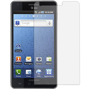 Samsung Infuse 4G - Anti Glare, Anti Fingerprint Matte Finish Screen Protector (Samsung Infuse Cell Phone)