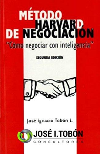 Amazoncom Método Harvard De Negociación Cómo Negociar