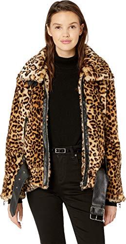 [BLANKNYC] Blank Denim Women's Leopard Print Jacket, Note to Self, Large