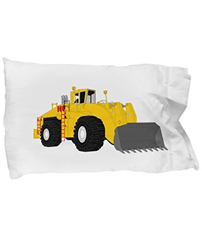 CHILDRENS CONSTRUCTION PILLOWCASE PILLOW CASE BEDDING | Front Loader Building & Farming Equipment Child Bedroom Decor | Fun Birthday Christmas HanuKkah Gift | 11 Super Soft Covers To Choose (Farming Equipment)