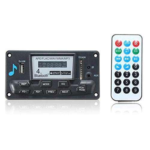 Digital Decoder Board LED Bluetooth 4.0 APE FLAC WAV WMA MP3 Smart Control 12V - Arduino Compatible SCM & DIY Kits Module Board - 1 x MP3 Decoding Decoder -