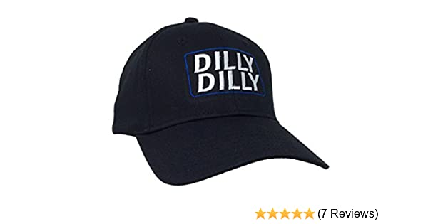 54d1130f Amazon.com: Trenz Shirt Company Funny Beer Drinking Dilly Dilly Adult  Baseball Cap, Black: Clothing