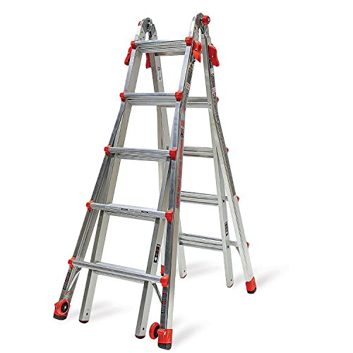 Little Giant Ladder Systems 22-Foot Multi-Position Aluminum LT Ladder (Little Giant Ladder Type 1a Model 22)