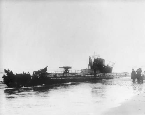 New 11x14 World War I Photo German Submarine U20 which Sank the LUSITANIA