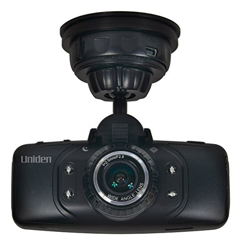 Uniden Dash Cam HD Automotive Video Recorder with GPS (Black) Cam650 (Discontinued by Manufacturer) (Renewed)