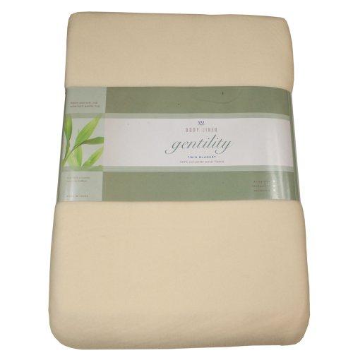 Gentility Polar Fleece Massage Table Blanket , Natural by Body Linen