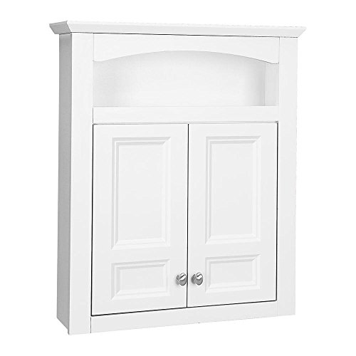 - Glacier Bay Modular 24.6 in. W x 29 in. H Bath Storage Cabinet in White