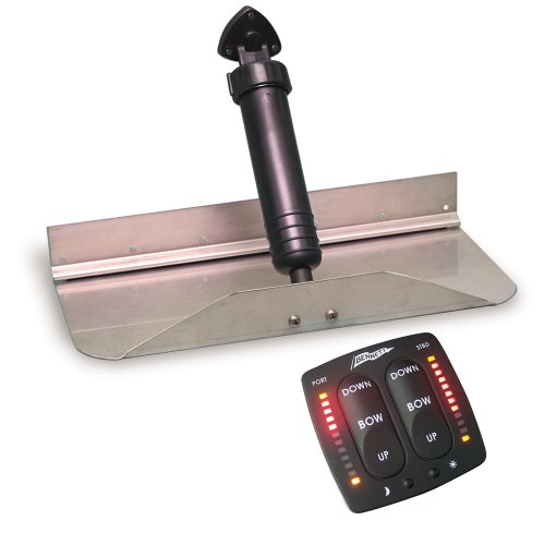 Bennett Marine, Inc 1212EIC Hydraulic Trim Tab Set with Electronic Indicator Control - 12