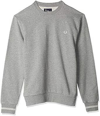 Fred Perry Mens CREW NECK SWEATSHIRT Sweatshirts
