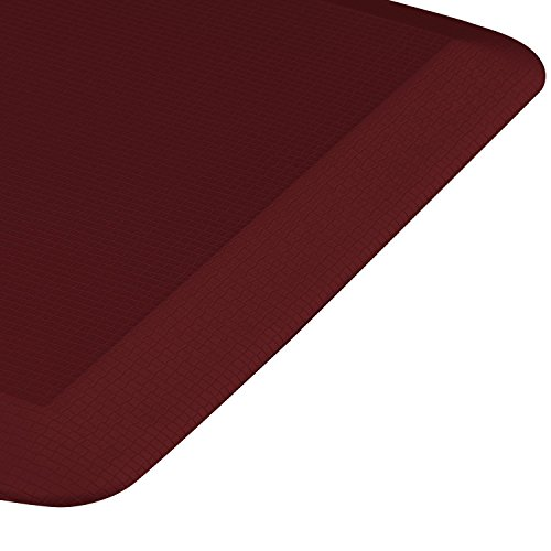 Royal Anti-Fatigue Comfort Mat - 20 in x 39 in x 3/4 in - Ergonomic Multi Surface, Non-Slip - Waterproof All-Purpose Luxurious Comfort - For Kitchen, Bathroom or Workstations - Burgundy by Royal (Image #2)