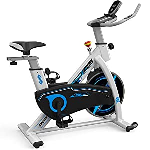 Well-Being-Matters 41U6LWuoPWL._SS300_ leikefitness Indoor Cycling Bike Stationary Easy to Assemble Ultra-Quiet Exercise Bike with LCD Display for Home Cardio…