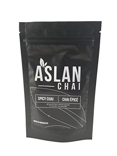 Spicy Chai Tea Green Tea Chai Mix   Ground From Whole All Natural Spices  100  Vegan And Gluten Free 28 Servings