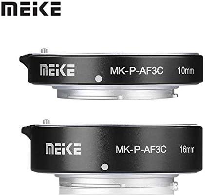 محول عدسة - Mike MK-P-AF3A Macro Auto Focus Tube Extension Ring AF for Panasonic for Olympus Mirror A1 BPUP-32889486373-001
