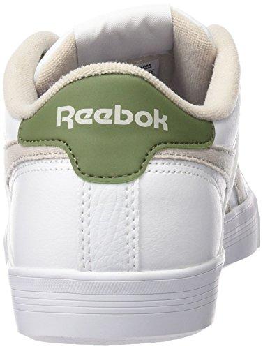 Reebok Classics Herren Sneaker ROYAL COMPLE div. Farben 41 - 50 WHITE/SAND STONE/GREY