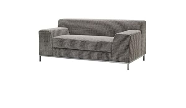 Phenomenal Amazon Com Ikea Kramfors Loveseat Slipcover Frojel Black Download Free Architecture Designs Scobabritishbridgeorg