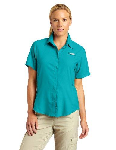 Columbia Women's Tamiami II Short Sleeve Shirt, Large, - Free Shipping Columbia