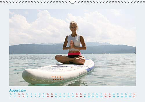 Faszination Yoga - SUP Wandkalender 2019 DIN A3 quer : Yoga ...