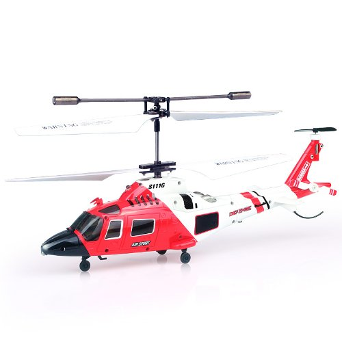 (Syma S111G 3.5 Channel RC Helicopter with Gyro)