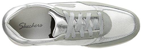 de deporte Activar zapatilla Skechers la de manera Silver la qUTUtB