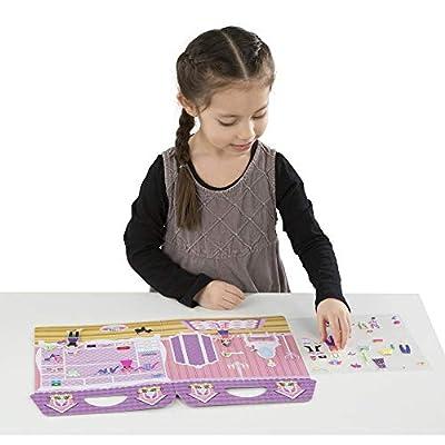 Melissa & Doug Puffy Sticker Play Set: Dress-Up: Melissa & Doug: Toys & Games