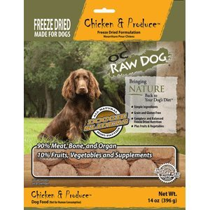 OC Raw Freeze Dried Chicken & Produce Sliders 14oz Review