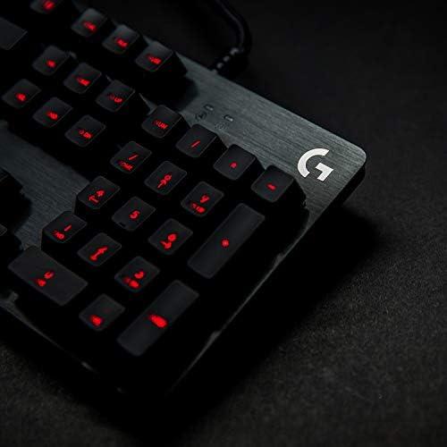 Logitech G - G413 - Teclado Mecánico con Iluminación para Gaming - Negro 10