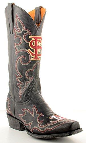 Ncaa Florida State Seminoles Menns Gameday Boots Black