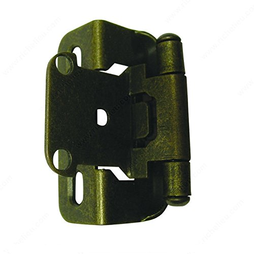 Richelieu Hinges and accessories, Traditional hinges, Overlay Hinge - 3/8