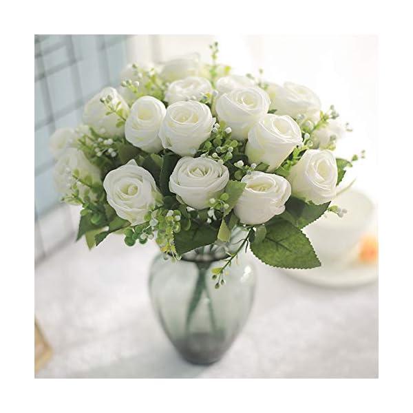 10-Head-Rose-Flower-Artificial-Silk-Pearl-Flower-Wedding-Bridal-Bouquet-Diamond-Rose-Garland-Party-Home-Decor