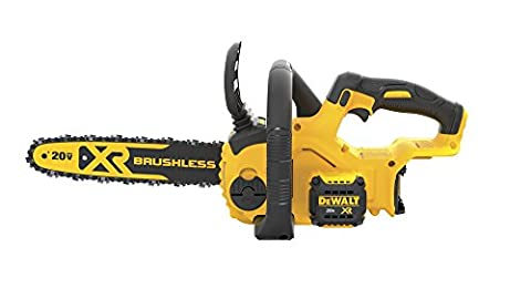 DEWALT DCCS620B 20V Max Compact Cordless Chainsaw Kit Bare Tool with Brushless Motor (Dewalt 20 Volt Cordless Tools)