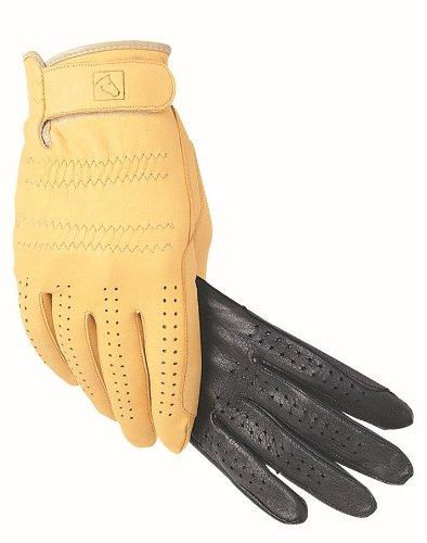 SSG Pro Show Deerskin Glove - Acorn 7 (Glove Deerskin Show)