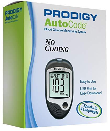 Prodigy Autocode Talking Blood Glucose Monitoring Meter