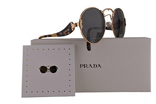 Prada PR55TS Sunglasses Antique Gold w/Grey 57mm Lens 7OE9K1 SPR55T PR 55TS SPR - Prada 09qs Sunglasses