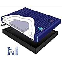 95% WAVELESS WATERBED MATTRESS / LINER / FILL DRAIN / CONDITIONER KIT (California King 72x84 1L3S1)