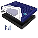 95% WAVELESS WATERBED MATTRESS / LINER / FILL DRAIN / CONDITIONER KIT (Queen 60x84 1L3S2)