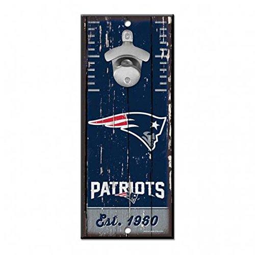 New England Patriots NFL Bottle Opener Sign 5