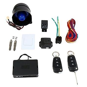 CARSFORM 12V Kit de sistema de alarma para automóvil ...
