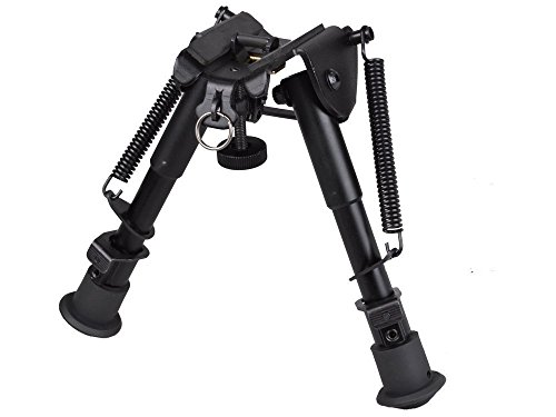 """Tactical Bipod Sale,Swingga 6""""-9"""" Tactical Pivot Bipod  Ajus"""