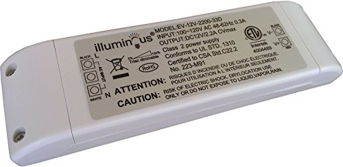 12V 26W Dimmable CV DC LED Driver ETL (UL) approved