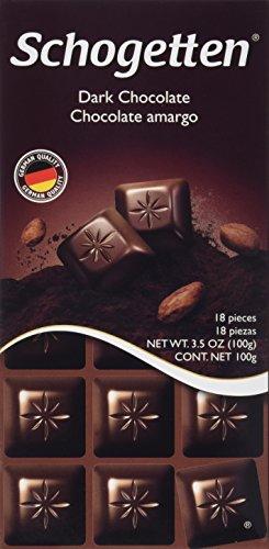 Schogetten German Dark Chocolate (Pack of 3) (Dark Chocolate Bars)