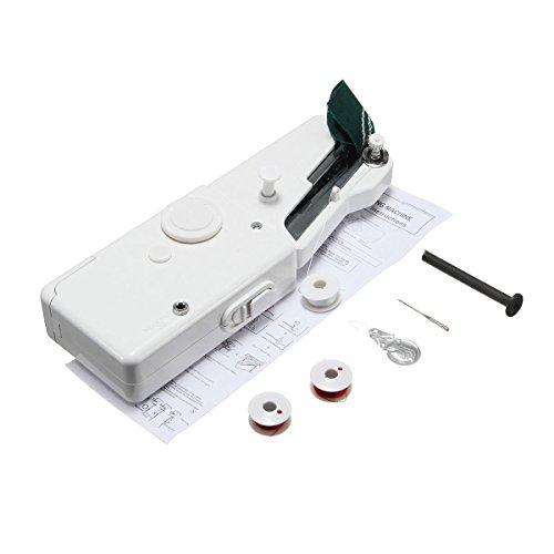 GOZAR Mini Portátil Eléctrico De Mano Máquina De Coser Mano Coser Bricolaje Costura: Amazon.es: Hogar